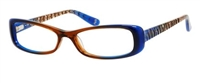 JLo Jlo 277 Eyeglasses 0ESL Blue Shaded,
