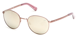 KENNETH COLE NEW YORK KC 7199 Sunglasses 29C Matte Rose Gold
