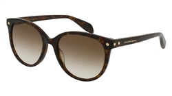 Alexander McQueen AM0072S Sunglasses