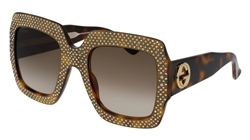 Gucci Fashion Inspired GG0048S Sunglasses