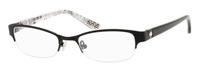 Kate Spade KS Aderyn Eyeglasses 0003 Satin Black,