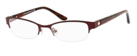 Kate Spade KS Aderyn Eyeglasses 0FE8 Dark Red,
