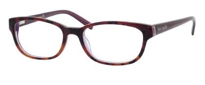 Designer Eyeglass Frames Kansas City : Kate Spade KS Blakely Eyeglasses 0JLG Tortoise Purple