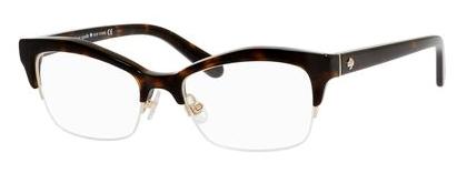 Designer Eyeglass Frames Kansas City : Kate Spade KS Lyssa Eyeglasses 0086 Havana