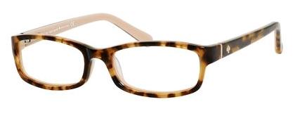 Designer Eyeglass Frames Kansas City : Kate Spade KS Narcisa Eyeglasses 0W72 Camel Tortoise,