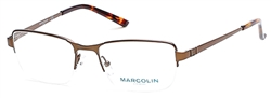 MARCOLIN MA 6826 Eyeglasses 046 Matte Light Brown