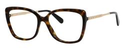 Marc Jacobs MJ 615 Eyeglasses 0ANT Dark Havana Gold,