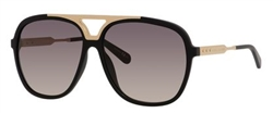 Marc Jacobs MJ 618 Sunglasses 0I46 Black Gold,