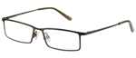 Magic Clip M 382 Eyeglasses ABRN Antq Brown,