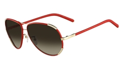 Chloe CE100SL Sunglasses 721 Gold-Red,