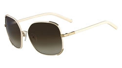Chloe CE109SL Sunglasses 729 Gold,