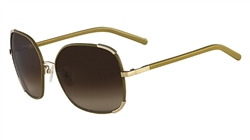 Chloe CE109SL Sunglasses 750 Gold,