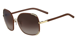 Chloe CE109SL Sunglasses 758 Gold,