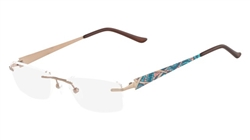 Airlock AIRLOCK Shattered Eyeglasses 210 Brown Mosaic,