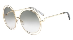 Chloe CE114S Sunglasses 734 Gold,