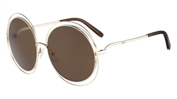 Chloe CE114S Sunglasses 743 Gold,