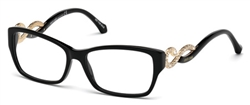 ROBERTO CAVALLI RC 0937 Eyeglasses 001 Shiny Black