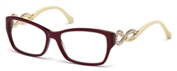 ROBERTO CAVALLI RC 0937 Eyeglasses 069 Shiny Bordeaux