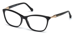 ROBERTO CAVALLI RC 0952 Eyeglasses 001 Shiny Black