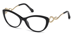 ROBERTO CAVALLI RC 5009 Eyeglasses 001 Shiny Black