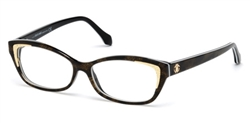 ROBERTO CAVALLI RC 5034 Eyeglasses 055 Coloured Havana