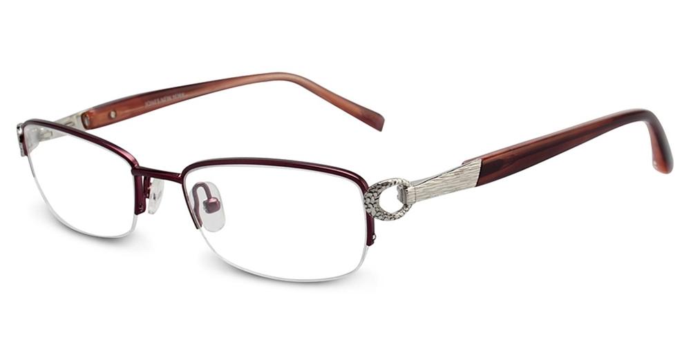 Jones New York J136 Eyeglasses Burgundy