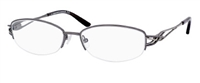 Saks Fifth Avenue SFA 246 Eyeglasses 0CVL Dark Ruthenium,