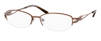 Saks Fifth Avenue SFA 246 Eyeglasses 0TE7 Brown Sand,