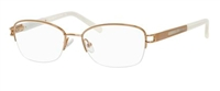 Saks Fifth Avenue SFA 267 Eyeglasses 0JKY Satin Camel,