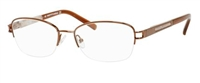 Saks Fifth Avenue SFA 267 Eyeglasses 0NBR Brown,
