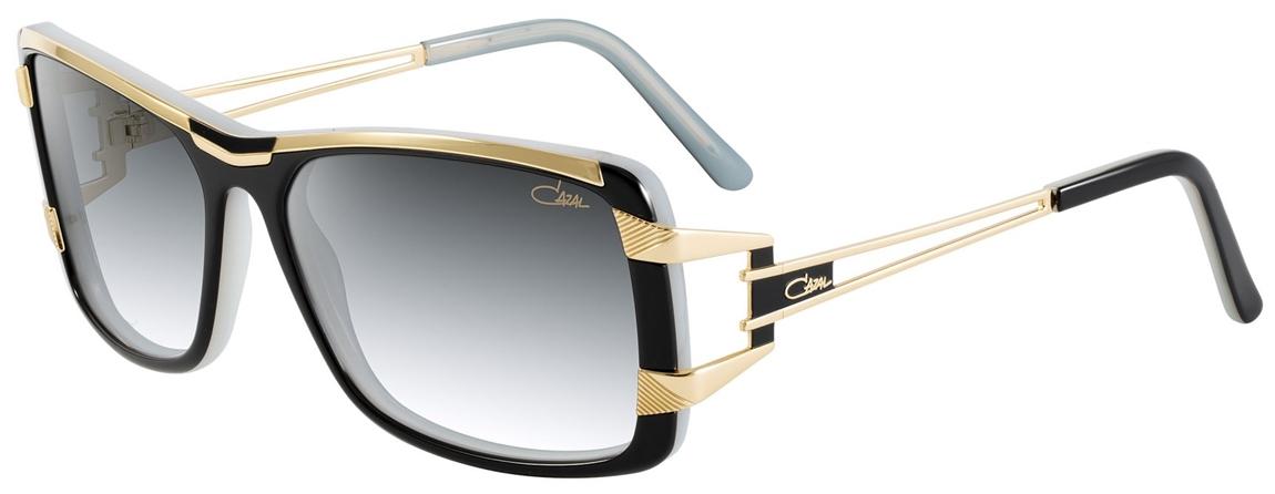 cazal 8019 sunglasses 001 black milk gold