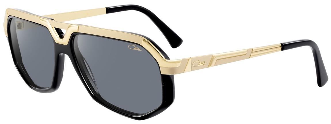 cazal 8021 sunglasses 001 gold black