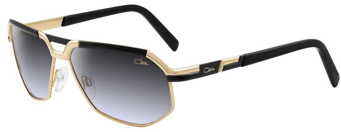cazal 9056 sunglasses 001 black gold