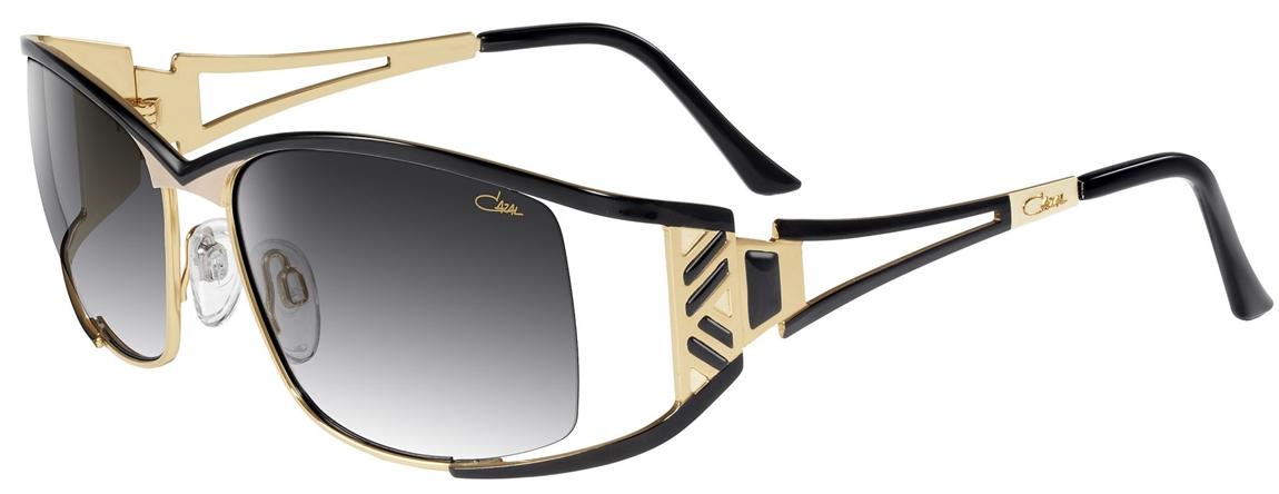 cazal 9060 sunglasses 001 black gold