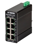 N-Tron 4 Port Industrial Midspan Power Injector - 100-POE4