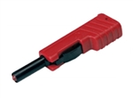 Hirschmann 932153-101 Red Touch Proof Banana Plug