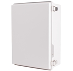 Boxco BC-AGP-304015 Hinged Lid Enclosure, Solid Gray, ABS Plastic