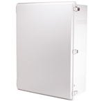 Boxco BC-CGP-608028 Hinged Lid Enclosure, Solid Gray, Polycarbonate