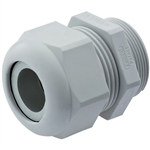 CD16MR-GY Metric Gray Plastic Dome Fitting