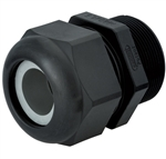 Sealcon M20 Black Plastic Strain Relief Fitting CD20MR-BK