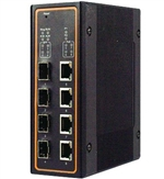 Mencom E45PNMS-8M-4POE-4SFP 8 Port Managed Gigabit Ethernet Switch