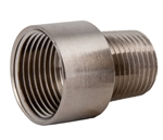 Threaded Nickel Plated Brass Enlarger