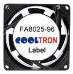 Cooltron AC Cooling Fan, 80 mm