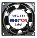 Cooltron AC Axial Fan, 115V