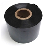 "2"" Black Hot Stamp Tape"