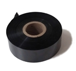 "1"" Black Hot Stamp Tape"