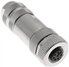Mencom M12 8 Pole Connector- MDCM-8FP-FW