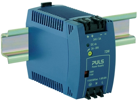 3 Amp Industrial Ethernet Power Supply