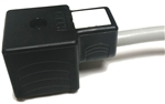 HTP 43650 Solenoid Valve Connector Form A, Gray