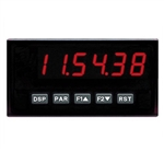 Red Lion Clock/Timer, 6 Digit, Red LED, DC